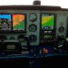 Custom instrument panels, G500 with SVT, GTN750, GNC255A, GTX327, GNA350, GDL88, FS210 Flight Stream, Aera 796, AOA, JPI EDM830