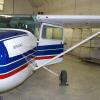 The company demonstrator Cessna 172 with a brand new paint job.