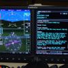 G500 with SVT (altitude pre-select), ADS-B weather and traffic, WX500 lightening displayed on MFD.